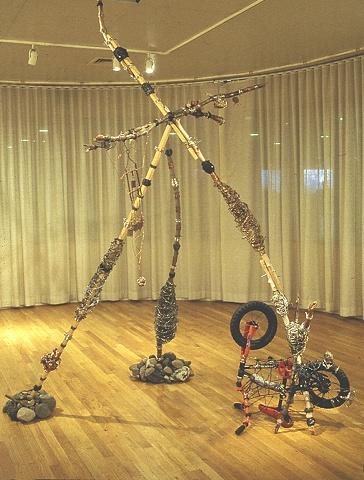 Prince Pharoah, York College Solo Exhibition,  2000