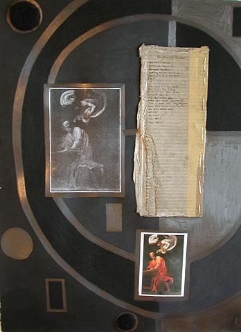 Black Caravaggio, The Veld on Cardboard