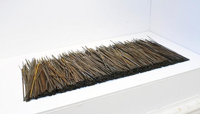 Sweeper bristles, Ken Nicol, Steel K.Nicol, Found objects www.k-nicol.com