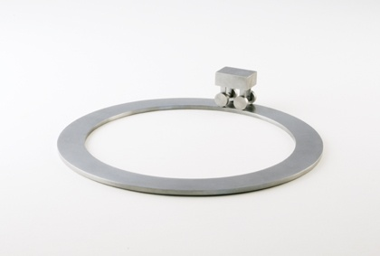 ken nicol, Ken Nicol, Sad Toy 1, Sculpture, conceptual, steel, art, artists