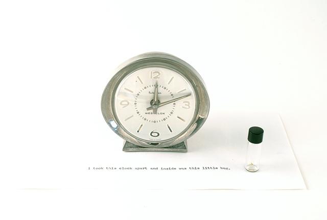 antique clock, baby ben, westclox, ken nicol, k.nicol