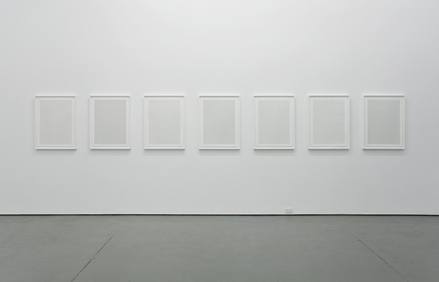 Fuck the bunny suit (version one), installation view