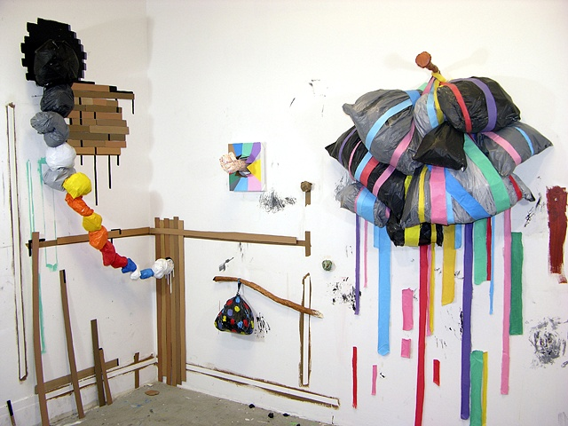 Trash cloud, hobo bag, blade wynne, risd studio