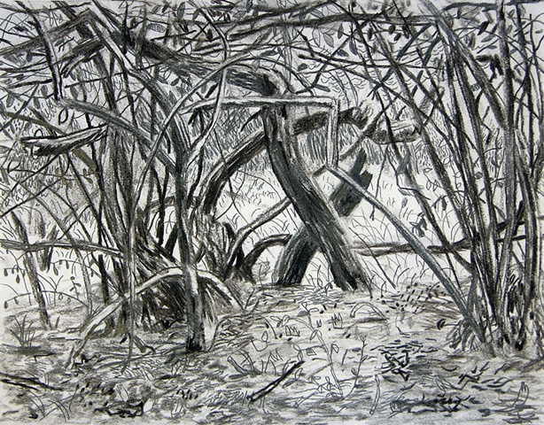 Blade Wynne, Painting, berkley, branches