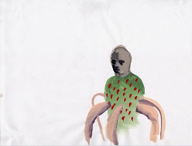 strawberry, octopus, blade wynne