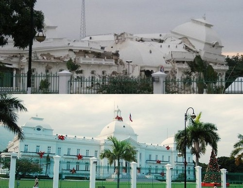 The Capitol before and after