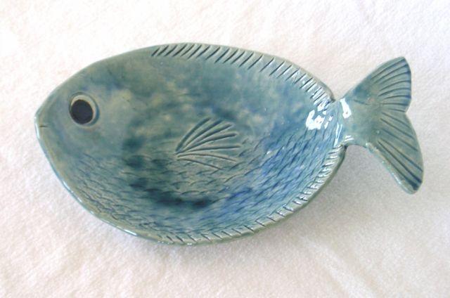 Irene Wiley  Raku Fish