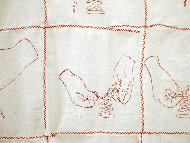 Insecurity Blanket I (detail)