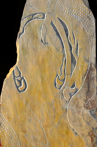 Inset of Buddha still lives in Pakistan # 6 -Side A
