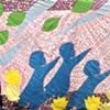 Multi-coloured Scarf of Peace