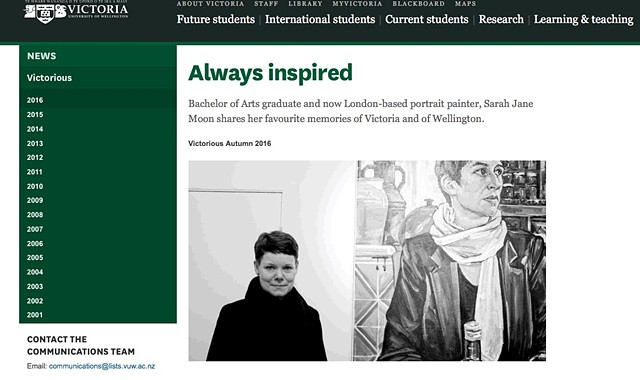 Always Inspired - Victorious Alumni Magazine, Autumn 2016
