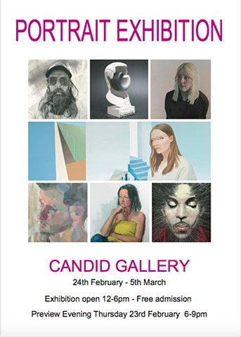PORTRAIT EXHIBITION, Candid Gallery, 2017
