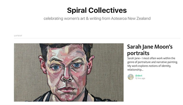 Sarah Jane Moon's Portraits, Spiral Collectives - Marian Evans, February 25th 2016