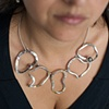 Forged 5-Link Necklace