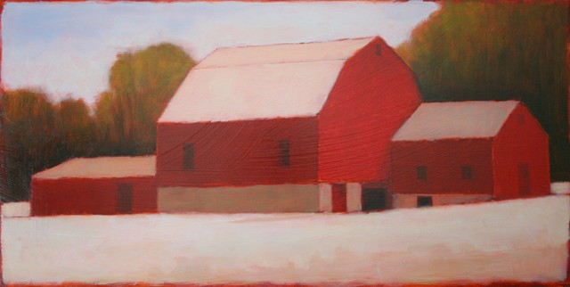 Red Barn Times Three