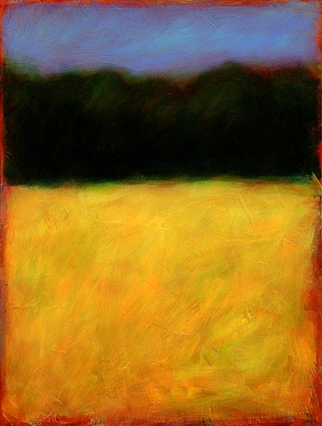 Yellow Field on Route 26