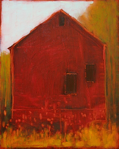 Lady Ostapeck's Barn in Red