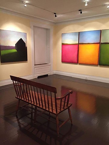 Image from my 2017 exhibit _Between Observation and Imagination_ at The Fenimore Museum in Cooperstown NY.