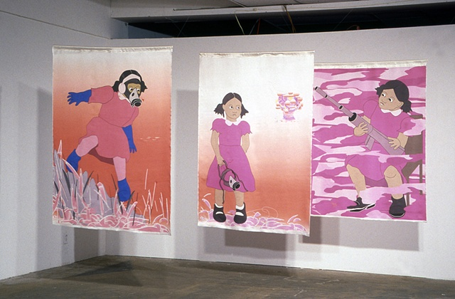 See Girl, installation view, 2005