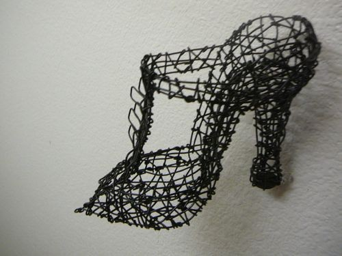salon shoe #1 (detail)