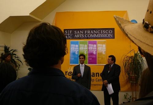 Senator Mark Leno & Luis R. Cancel