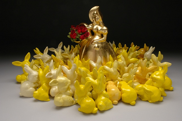 and all the yellow bunnies...