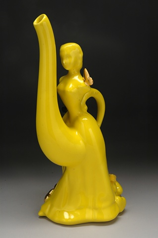 yellow dreams teapot