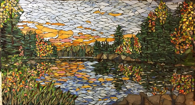 Serenity Lake (Commission at Hennepin County Medical Center, Minneapolis, Minnesota)