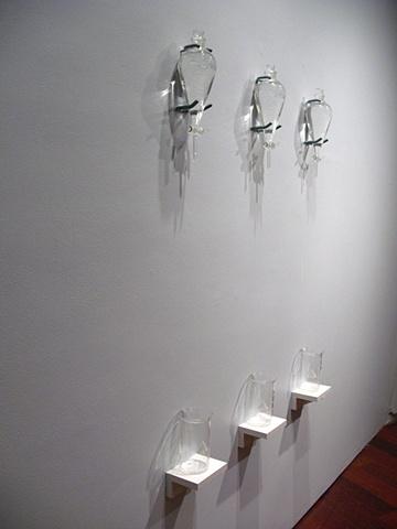 Drip installation before