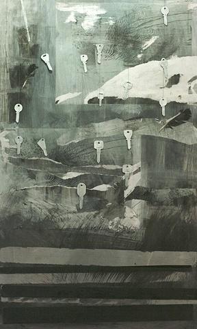 the city of keys (painting I)