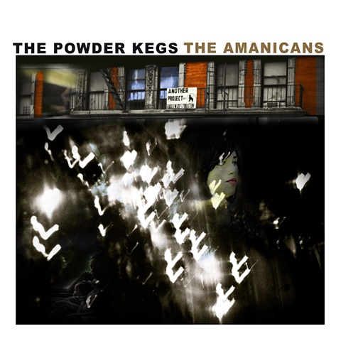 "Album Cover for ""The Amanicans""  by The Powder Kegs"