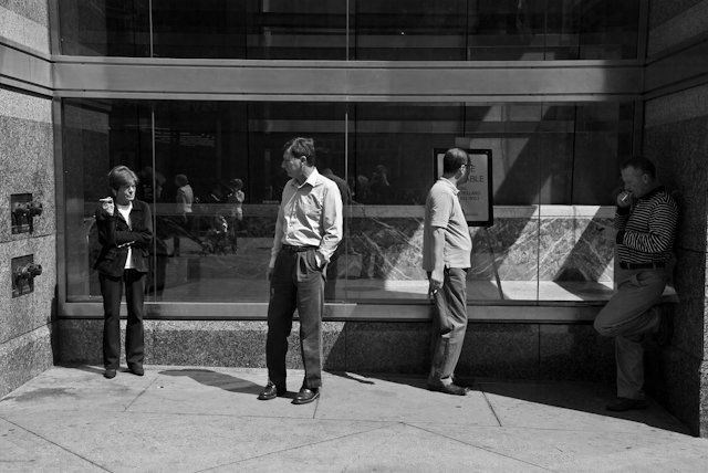 cigarette break- philadelphia, pa