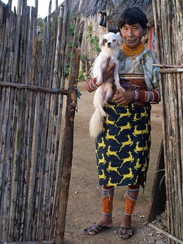 Kuna woman, San Blas islands, Ailitupu