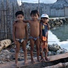Three boys by the water San Blas Islands