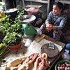 Seller in Russian Market, Phnom Penh