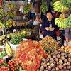 Fruit seller, Phnom Penh