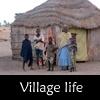 Village life in Senegal