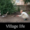 Village life in Ukraine