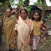Three village women