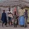 Nomad family outside Ker Makhale