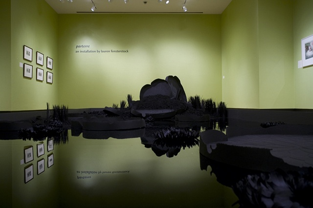 Lauren fensterstock Installation at Bowdoin College Museum of Art, 2008