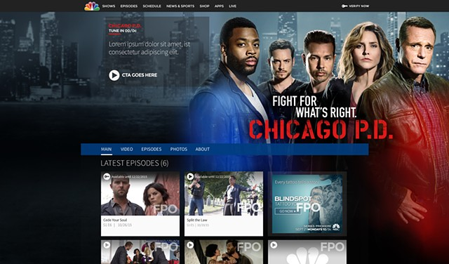 Chicago PD Home Page