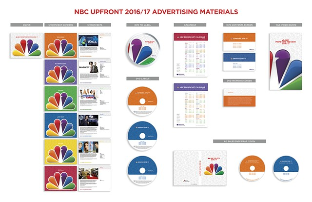 NBC Upfront 2016/17 Advertising Materials