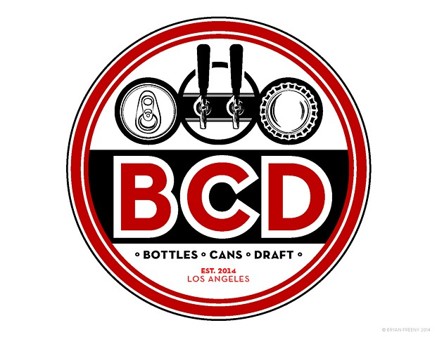 Identity / Logo Projects 2014 BCD (Bottles • Cans • Draft) Work-up 2