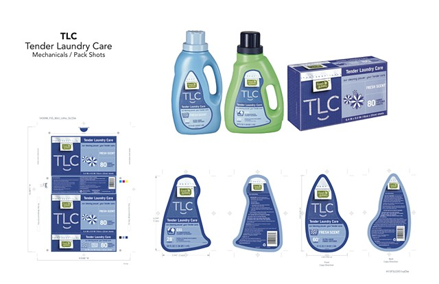 TLC Tender Loving Care Mechanicals / Product Shots