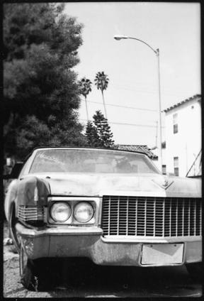 Abandoned Cadillac – Los Angeles