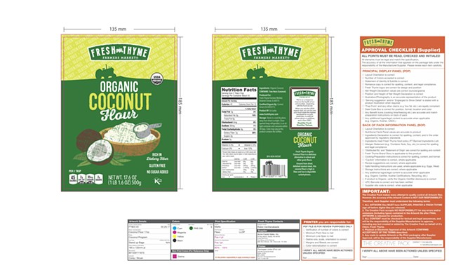 Fresh Thyme Organic Coconut Products Range