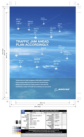Boeing Ad Frontline Communications Reworked background effects & sky. Create final mechanical.