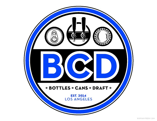 Identity / Logo Projects 2014 BCD (Bottles • Cans • Draft) Work-up 3