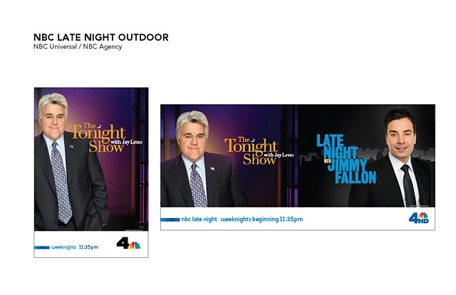 NBC Agency Late Night Outdoor